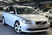 USED 2010 60 VOLVO S40 1.6 D2 R-DESIGN 4d 113 BHP STUNNING S40 R-DESIGN D2 WITH FULL SERVICE HISTORY