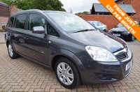 USED 2011 11 VAUXHALL ZAFIRA 1.7 DESIGN CDTI ECOFLEX 5d 108 BHP 12 Month National Warranty inc
