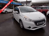 USED 2013 13 PEUGEOT 208 1.0 ACCESS 3d 68 BHP WARRANTED NEW MOT FULLY SERVICED
