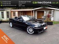 2005 BMW 3 SERIES 2.5 325CI SPORT 2d 190 BHP £4995.00