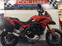 USED 2014 14 DUCATI MULTISTRADA 1198cc MULTISTRADA 1200  ONLY 5,000 MILES WITH FSH!!!
