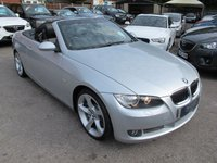 2008 BMW 3 SERIES 3.0 335I CONVERTIBLE AUTO 6SPD 2d 302 BHP PADDLES £10999.00