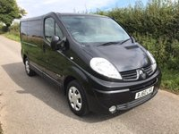 2010 RENAULT TRAFIC SL27 SPORT DCI S/R £5995.00