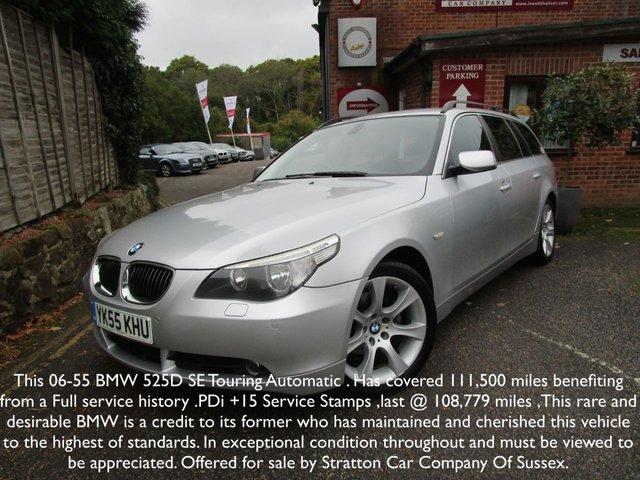 2006 55 BMW 5 SERIES 2.5 525D SE TOURING 5d 175 BHP
