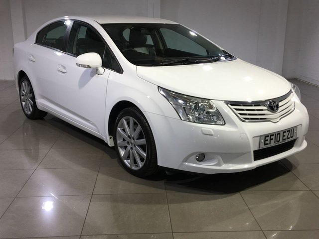 View our 2010 10 TOYOTA AVENSIS 2.2 T SPIRIT D-4D 4d 148 BHP