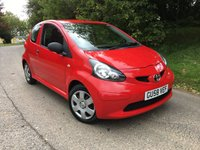 2008 TOYOTA AYGO 1.0 VVT-I 3d 67 BHP PX TO CLEAR PLEASE CALL TO VIEW £SOLD
