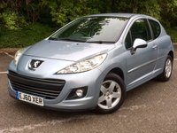 USED 2011 60 PEUGEOT 207 1.4 MILLESIM 3d 95 BHP Low Mileage