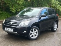 USED 2009 58 TOYOTA RAV4 2.0 VVTI XTR 5d 150 BHP ONE OWNER