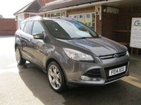 USED 2014 14 FORD KUGA 2.0 TITANIUM TDCI 5d AUTO 163 BHP 4 Wheel Drive HIGH SPEC