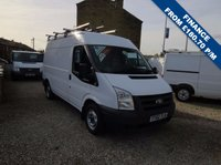 USED 2010 60 FORD TRANSIT 85T 280 2.2TDCi MWB MEDIUM ROOF VAN ONE OWNER - FULL DEALER SERVICE HISTORY - ONLY 38,000m