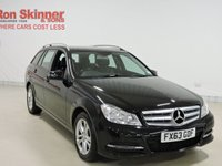 USED 2013 63 MERCEDES-BENZ C-CLASS 2.1 C220 CDI BLUEEFFICIENCY EXECUTIVE SE 5d 168 BHP