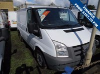 USED 2011 61 FORD TRANSIT 85T 260 2.2TDCi SWB LOW ROOF VAN ONE COMPANY OWNER, ONLY 42000m