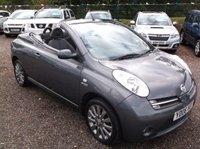 USED 2006 06 NISSAN MICRA 1.6 SPORT CC 2d 109 BHP STYLISH FUN CONVERTIBLE! F.S.H, HIGH SPEC. LOW MILES!