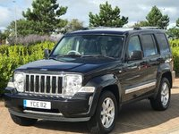 2009 JEEP CHEROKEE 2.8 LIMITED 5d AUTO 175 BHP £6995.00