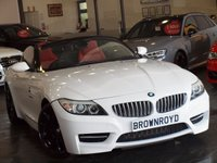 USED 2010 10 BMW Z4 3.0 Z4 SDRIVE35IS ROADSTER 2d AUTO 340 BHP RARE CAR+RED LTHR+FSH+