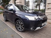 USED 2014 14 MITSUBISHI OUTLANDER 2.3 DI-D GX 3 5d 147 BHP *** FINANCE & PART EXCHANGE WELCOME ***  4 X 4 DIESEL 7 SEATS BLUETOOTH PHONE AIR./ CON CRUISE CONTROL PARKING SENSORS