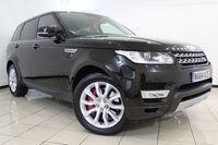 USED 2014 64 LAND ROVER RANGE ROVER SPORT 3.0 SDV6 HSE 5DR AUTOMATIC 288 BHP FULL LAND ROVER SERVICE HISTORY + SAT NAVIGATION + CRUISE CONTROL + PARKING SENSORS + REAR VIEW CAMERA + CLIMATE CONTROL