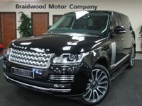 USED 2015 LAND ROVER RANGE ROVER 3.0 TDV6 VOGUE 5d AUTO 255 BHP