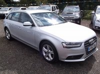 USED 2012 62 AUDI A4 2.0 AVANT TDI SE TECHNIK 5d AUTO 141 BHP 2 OWNERS, DIESEL / AUTOMATIC, FULL SERVICE HISTORY, STUNNING EXAMPLE THROUGHOUT, EXCELLENT SPEC,  DRIVES SUPERBLY