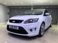 USED 2010 10 FORD FOCUS 2.5 ST-3 3d 223 BHP FULL LEATHER SEATS + SATELLITE NAVIGATION