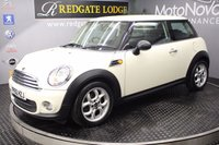 USED 2010 60 MINI HATCH ONE 1.6 ONE D 3d 90 BHP