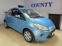 USED 2013 63 FORD KA 1.2 EDGE 3d 69 BHP * TWO OWNERS * LONG MOT *