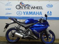 USED 2013 13 YAMAHA YZF R125 ***IN A STRONG COBALT BLUE*** ***LOW MILES***