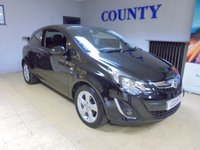 USED 2013 13 VAUXHALL CORSA 1.2 SXI AC 3d 83 BHP * ONE OWNER * LOW MILES *