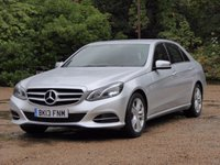 2013 MERCEDES-BENZ E CLASS 2.1 E220 CDI SE 4d AUTO 168 BHP £15000.00