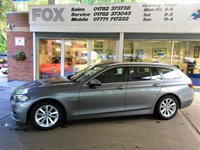 USED 2013 13 BMW 5 SERIES 2.0 518D SE TOURING 5d AUTO 141 BHP BMW 5 SERIES  518D Touring.