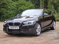 2014 BMW 1 SERIES 2.0 120D M SPORT 3d AUTO 181 BHP £12495.00