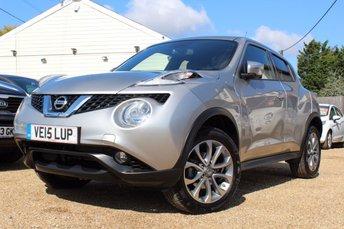 2015 NISSAN JUKE 1.6 TEKNA XTRONIC 5d AUTO 117 BHP £12500.00