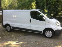 2013 VAUXHALL VIVARO 2.0 2900 CDTI 1d 113 BHP LONG WHEEL BASE  £7895.00