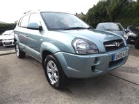2009 HYUNDAI TUCSON 2.0 LIMITED 5 DOOR £4995.00