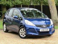 2011 HONDA JAZZ 1.3 I-VTEC ES 5d 98 BHP £4750.00