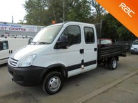 USED 2008 08 IVECO-FORD DAILY 2.3 LWB DROPSIDE*32,000 MILES*1 OWNER*NEW CAMBELT*