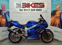 2001 Y TRIUMPH TT 600 SPORTS BIKE 600cc £1695.00