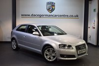 USED 2009 09 AUDI A3 1.9 TDI E SPORT 3DR 103 BHP + AUDI SERVICE HISTORY + SPORT SEATS + AUXILIARY PORT + HEATED MIRRORS + AIR CONDITIONING + 17 INCH ALLOY WHEELS +