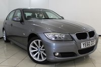 USED 2010 60 BMW 3 SERIES 2.0 318D SE 4DR 141 BHP SERVICE HISTORY + AIR CONDITIONING + PARKING SENSOR + MULTI FUNCTION WHEEL + RADIO/CD + 17 INCH ALLOY WHEELS