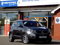 USED 2014 64 KIA SPORTAGE 1.7 CRDi 2 ISG 5dr * Pan Roof * *ONLY 9.9% APR with FREE Servicing*