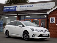USED 2013 13 TOYOTA AVENSIS 2.0 D-4D ICON 5dr  *ONLY 9.9% APR*