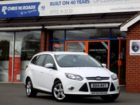 USED 2014 14 FORD FOCUS 1.6 TDCi ZETEC 5dr  *ONLY 9.9% APR with FREE Servicing*