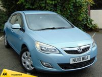 USED 2010 10 VAUXHALL ASTRA 1.7 EXCLUSIV CDTI 5d  * 128 POINT AA INSPECTED *