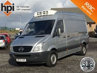 2010 MERCEDES-BENZ SPRINTER 2.1 313 CDI MWB TEMPERATURE CONTROLLED FRIDGE VAN £4790.00