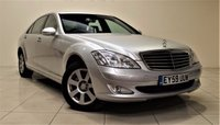 USED 2009 59 MERCEDES-BENZ S CLASS 3.0 S320 L CDI 4d AUTO 231 BHP ONLY 1 OWNER FROM NEW + SAT NAV + AIR CON + LEATHER SEATS