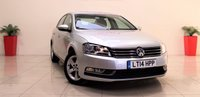 USED 2014 14 VOLKSWAGEN PASSAT 1.6 S TDI BLUEMOTION TECHNOLOGY 4d 104 BHP + 1 OWNER FROM NEW + FULL SERVICE HISTORY + AIR CON + AUX + BLUETOOTH