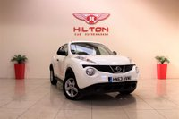 USED 2013 63 NISSAN JUKE 1.5 VISIA DCI 5d 110 BHP + 1 PREV OWNER + AIR CON + SERVICE HISTORY +