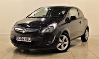 USED 2014 64 VAUXHALL CORSA 1.2 SXI AC 3d 83 BHP + 1 PREV OWNER +  AIR CON + CLIMATE CONTROL