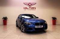 USED 2013 13 BMW 1 SERIES 2.0 118D M SPORT 5d 141 BHP + 1 PREV OWNER + EXCELLENT CONDITION