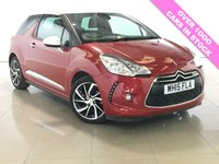 USED 2015 15 DS DS 3 1.6 BLUEHDI DSTYLE NAV S/S 3d 98 BHP 1 OWNER / SAT NAV